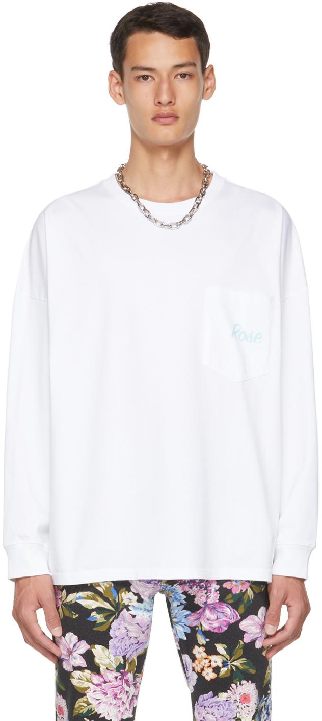White Warung Long Sleeve T-Shirt