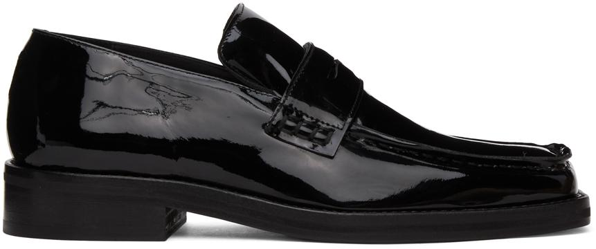 Black Patent Roxy Loafers