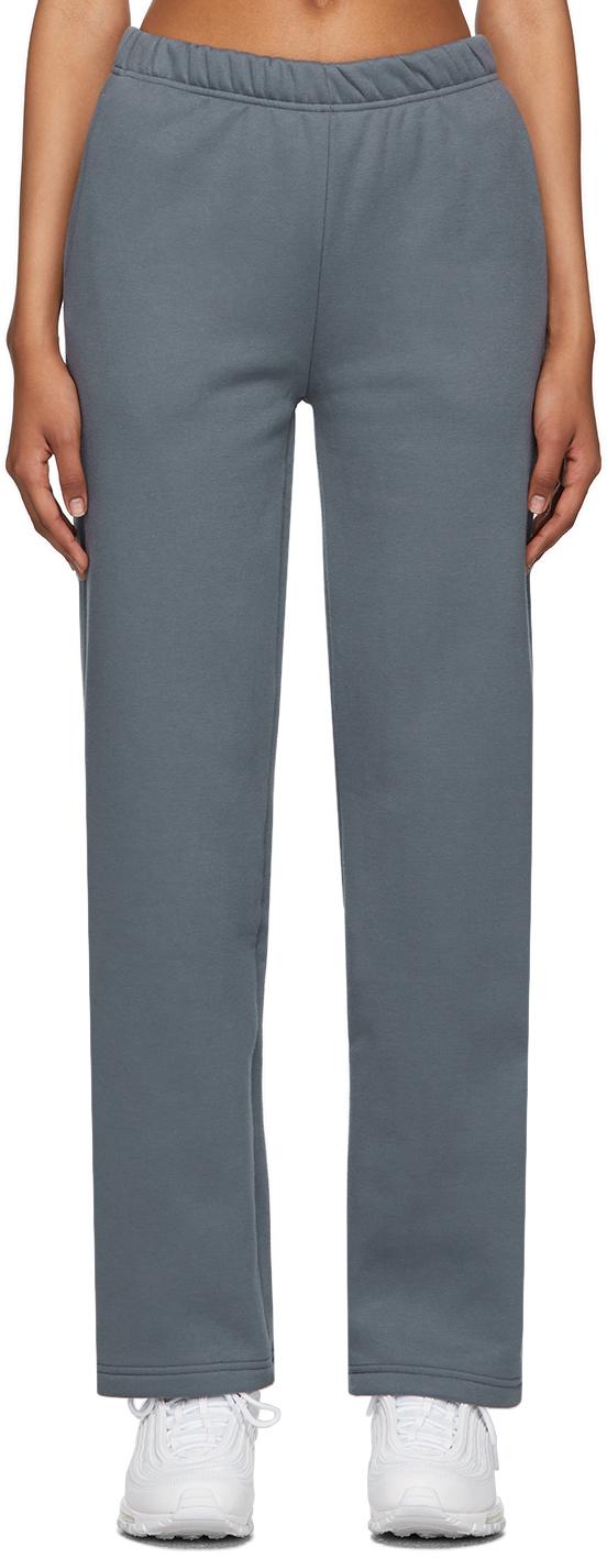 Blue Flared Lounge Pants