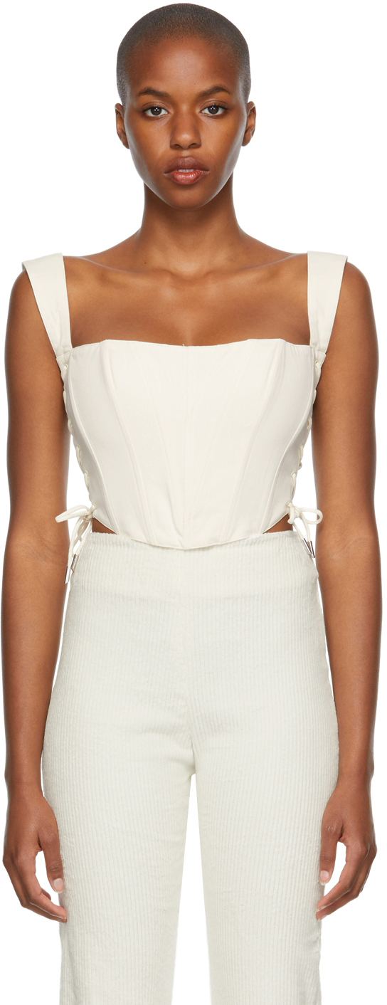 Off-White Classic Fitted Corset
