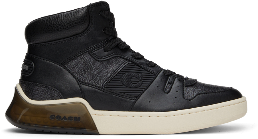 Black Citysole High-Top Sneakers