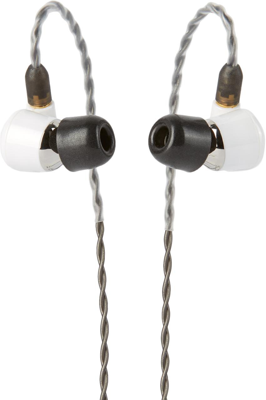 White Vega Earphones
