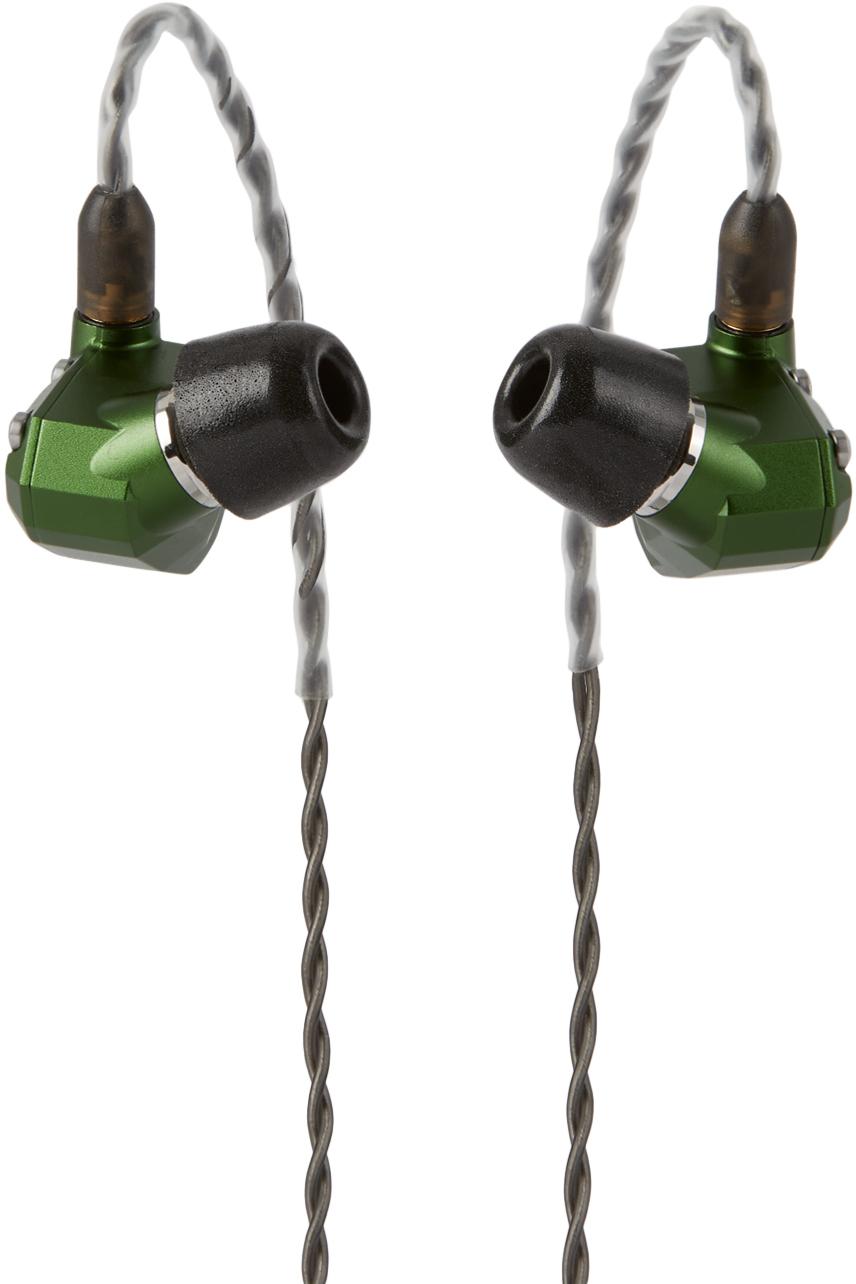 Campfire Audio Green Andromeda Solid-Body Earphones
