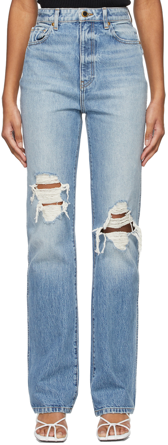 Blue Ripped 'The Danielle' Jeans