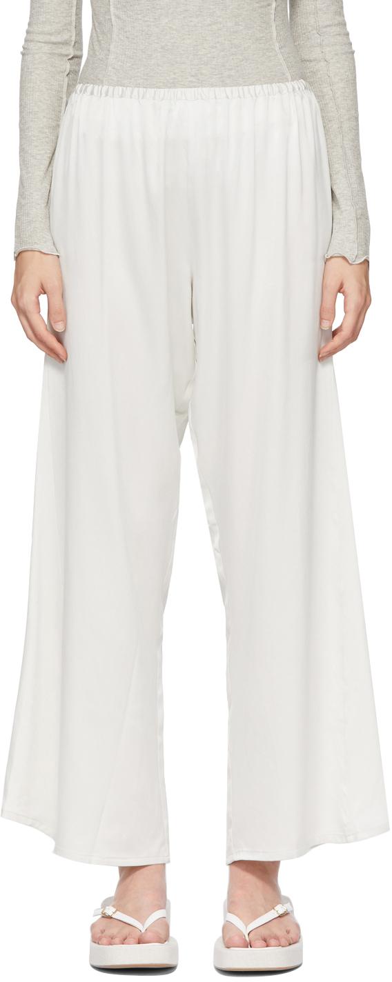 Grey Silk Mir Lounge Pants