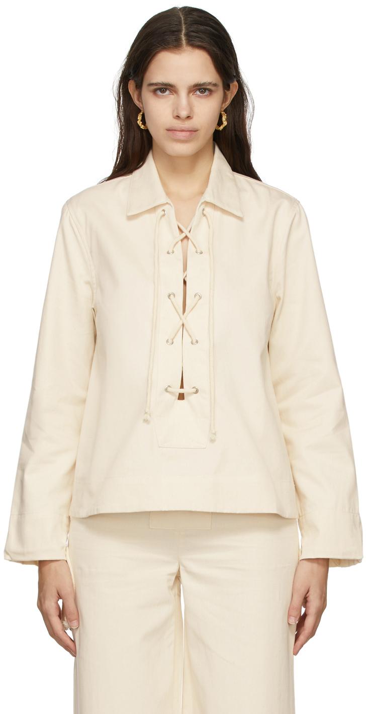 Beige Denim Bayou Shirt