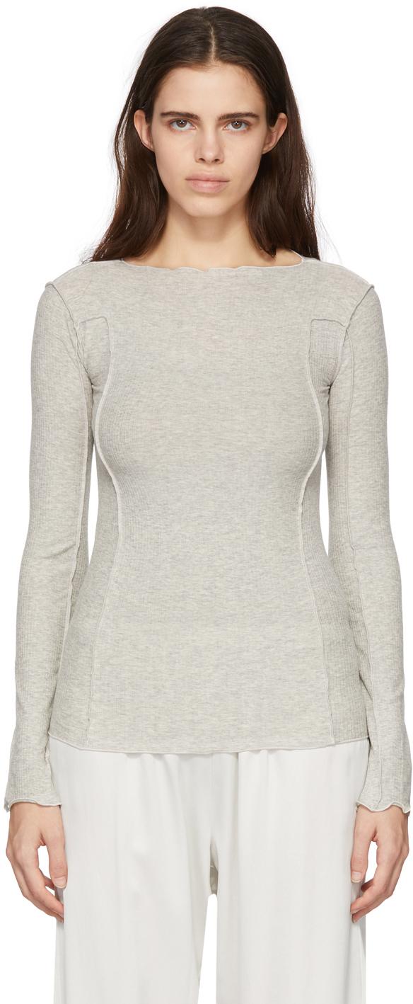 Baserange 灰色 Omato 长袖 T 恤