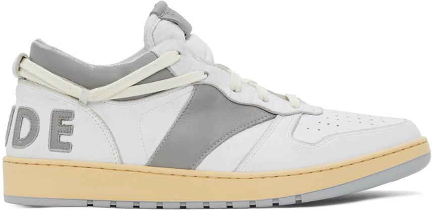 Rhude 白色 Rhecess 运动鞋