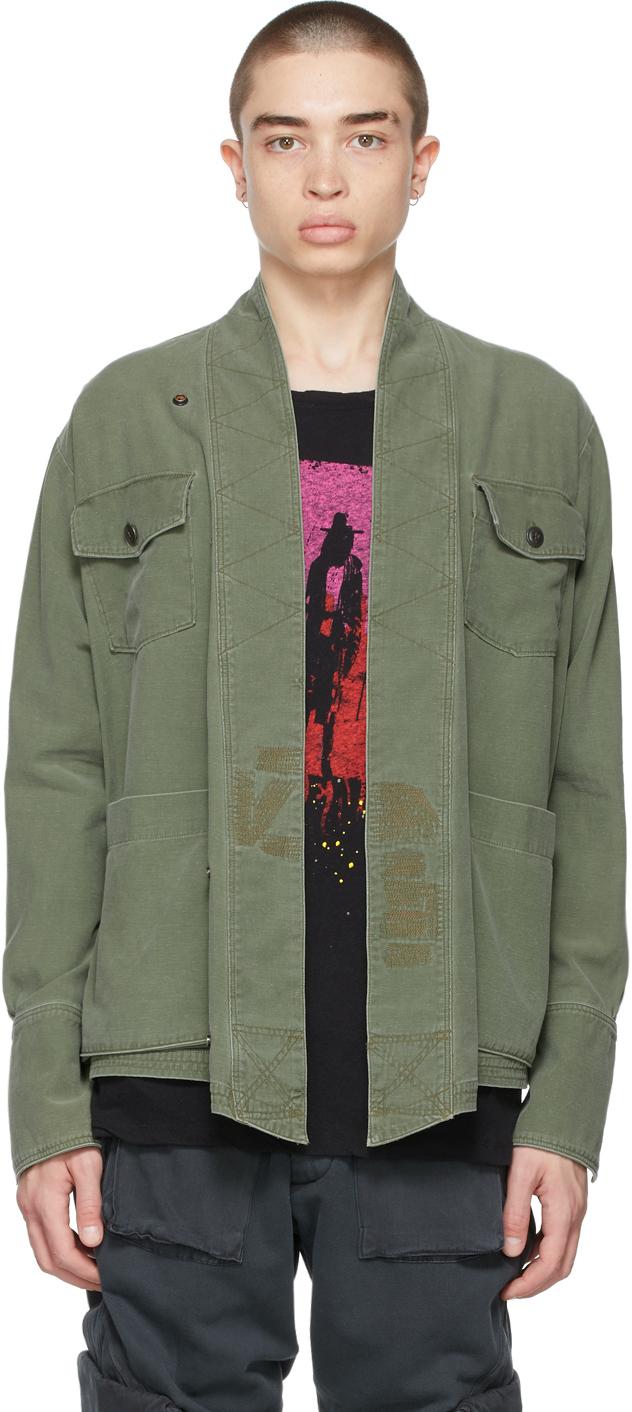Khaki Studio Jacket