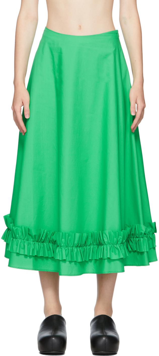 Green Morgan Skirt