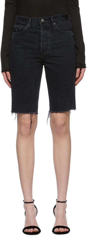 Black Beverly Bermuda Shorts