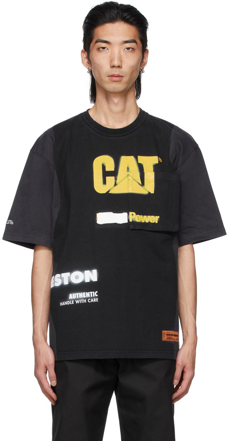 Black Caterpillar Edition Pocket T-Shirt
