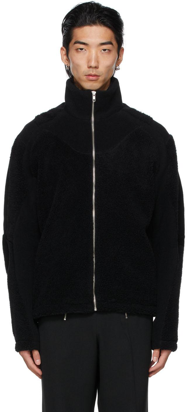 Black Wool Mix Ercan Jacket
