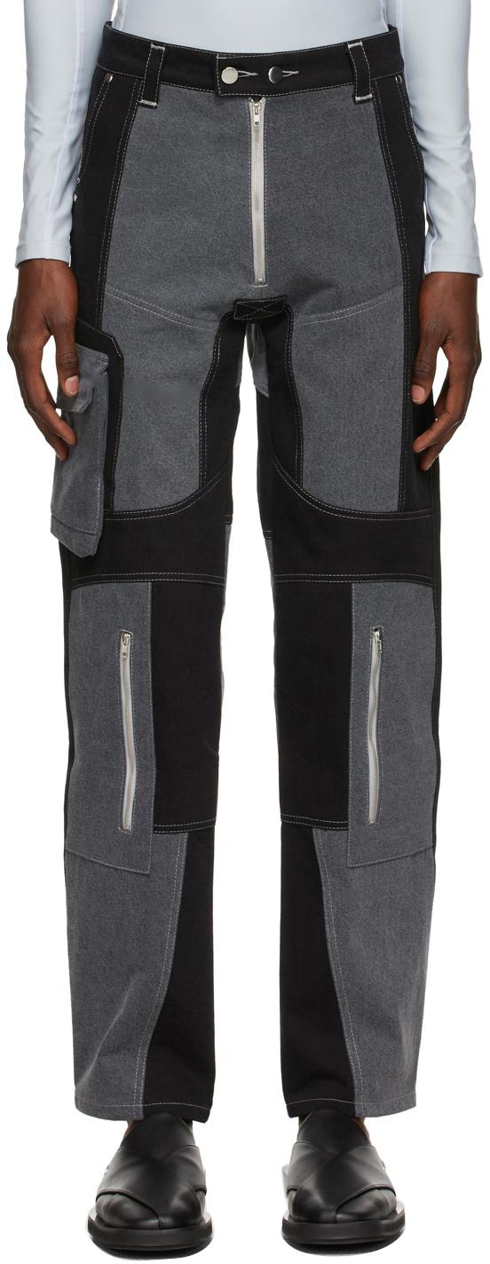 Black & Grey Anton Jeans