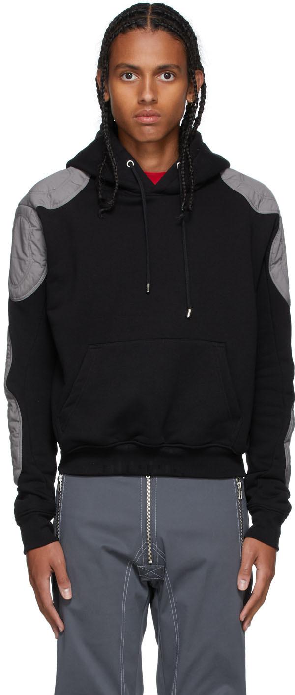 Black & Grey Faruk Hoodie