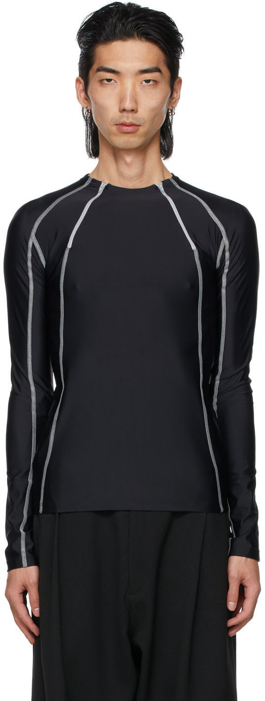 Black Jersey Ande Long Sleeve T-Shirt