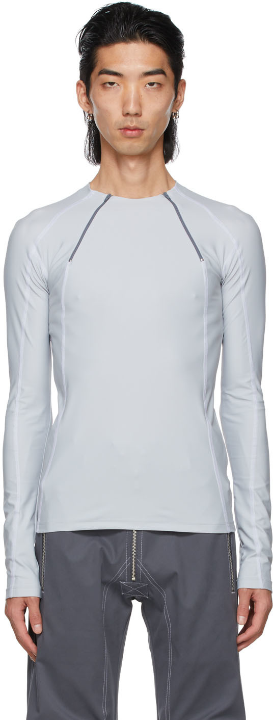 Grey Jersey Ande Long Sleeve T-Shirt