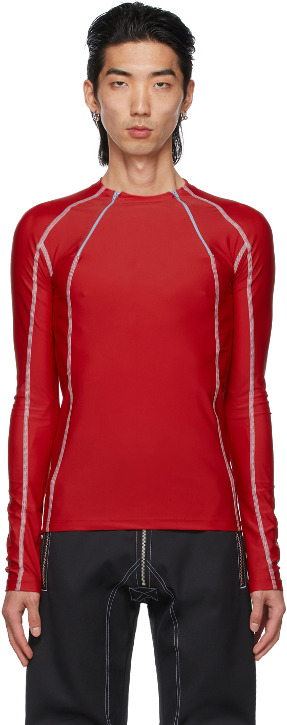 Red Jersey Ande Long Sleeve T-Shirt