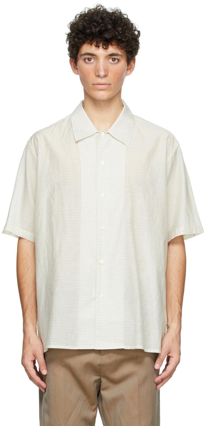 HOPE Off-White Blaze Short Sleeve Shirt