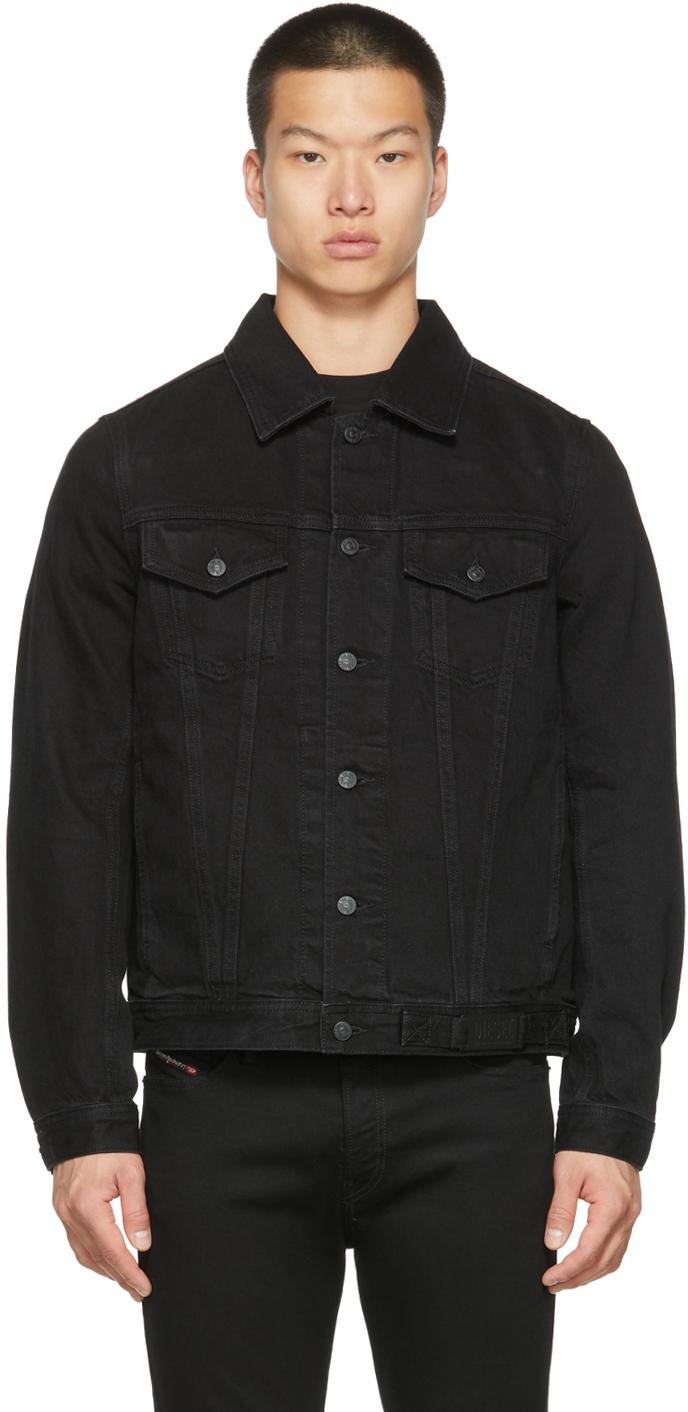 Black Denim Nhill-C1 Jacket