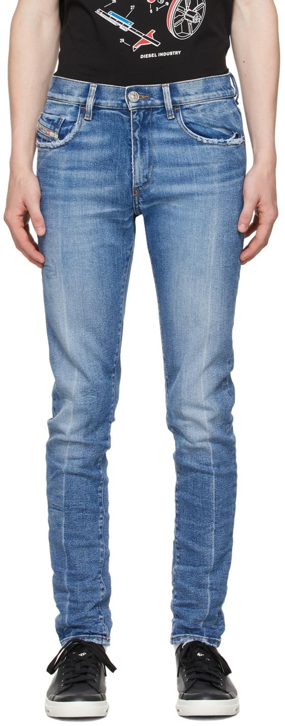 Blue D-Strukt Jeans