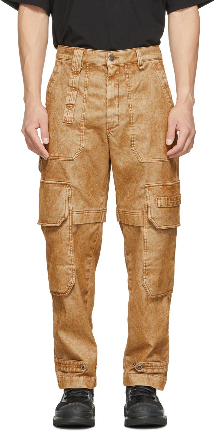 Brown JoggJean D-Multy Jeans
