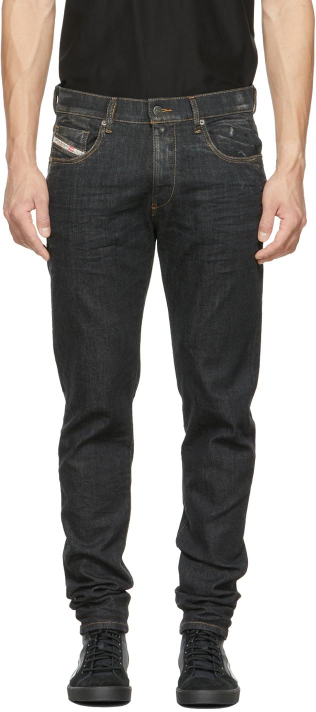 Black Faded D-Strukt Jeans