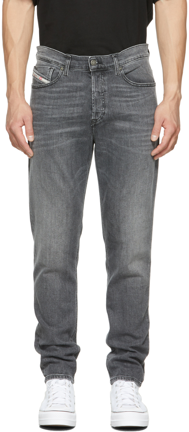 Grey D-Fining Jeans
