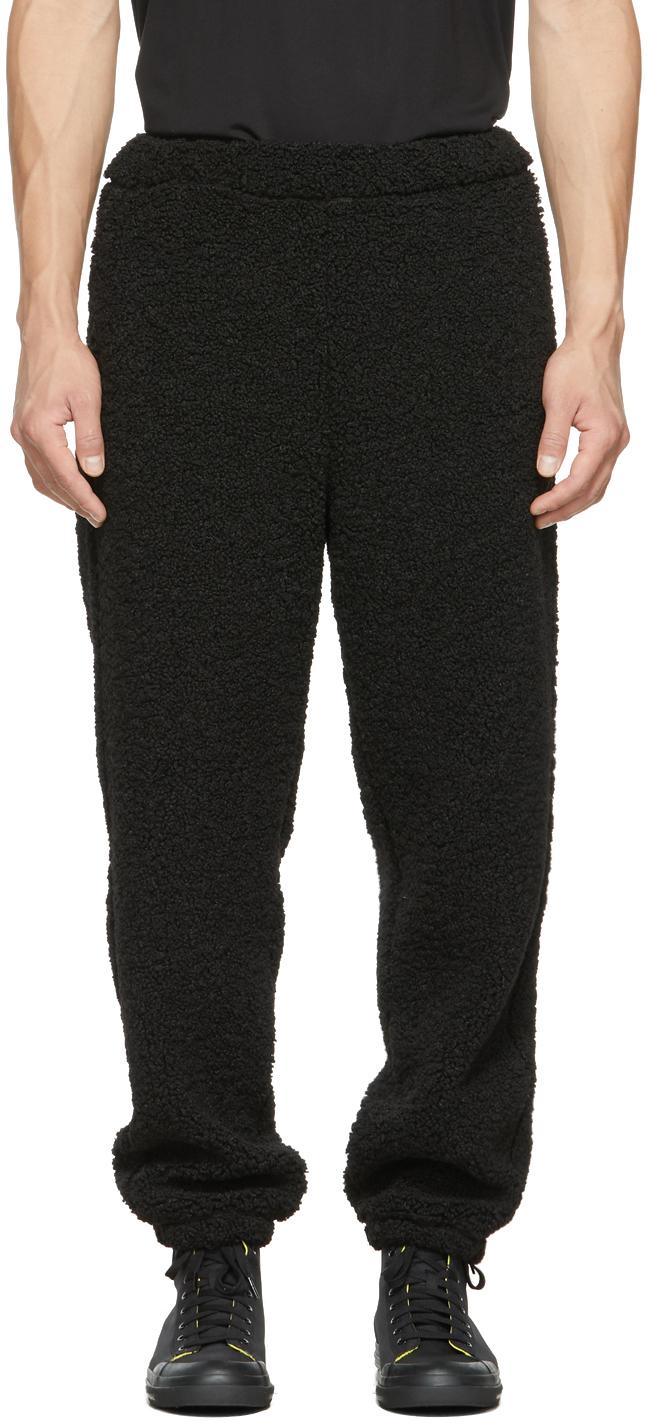 Black P-Calton-Teddy Lounge Pants