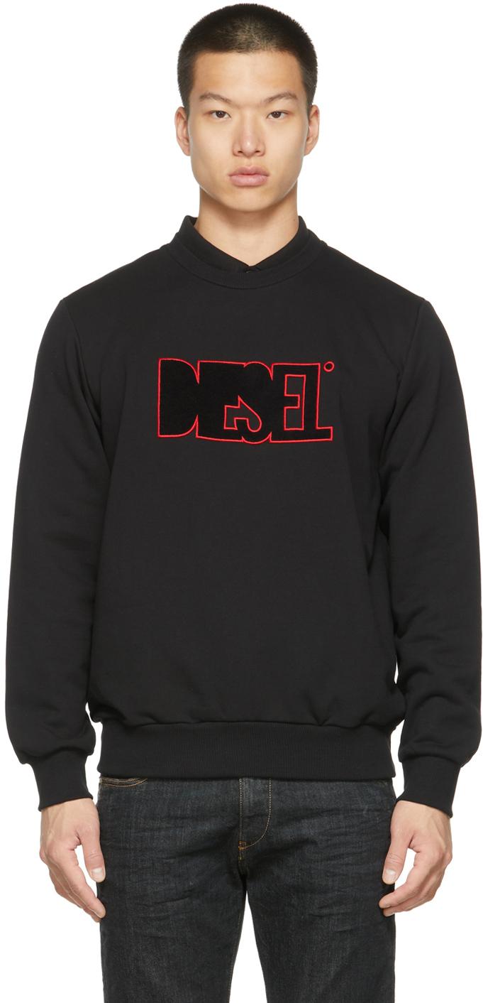 Black S-Girk-B6 Sweatshirt
