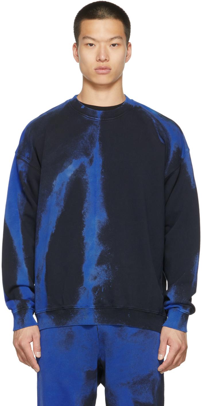 Black & Blue S-Mart-Rib Sweatshirt