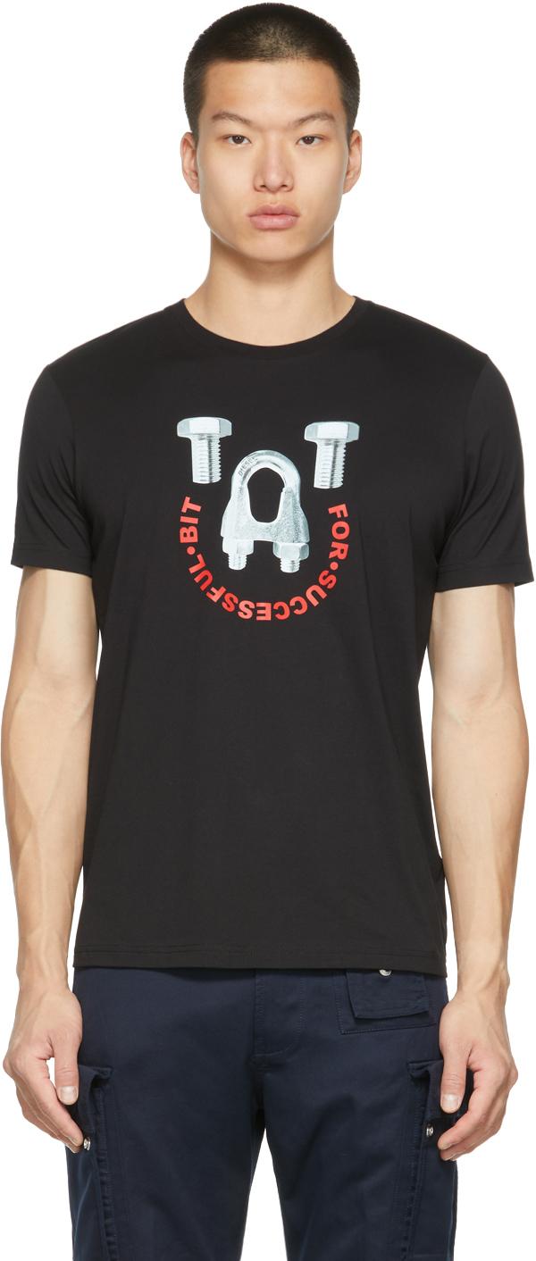 Black T-Diegos-B3 T-Shirt