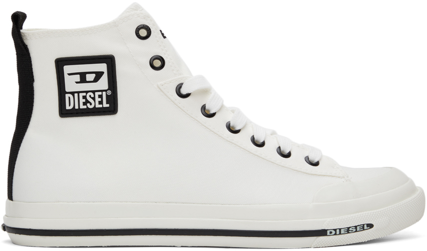 White S-Astico Mid Sneakers
