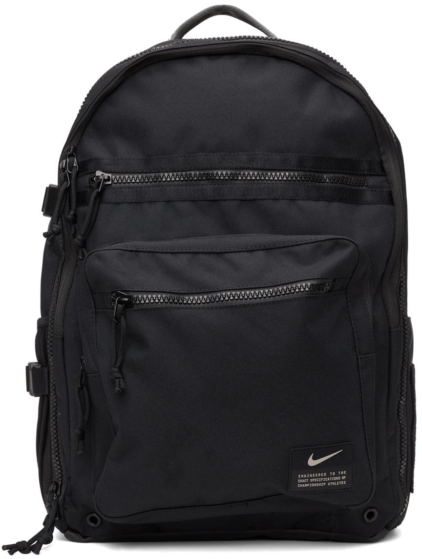Black Utility Power Training Backpack
