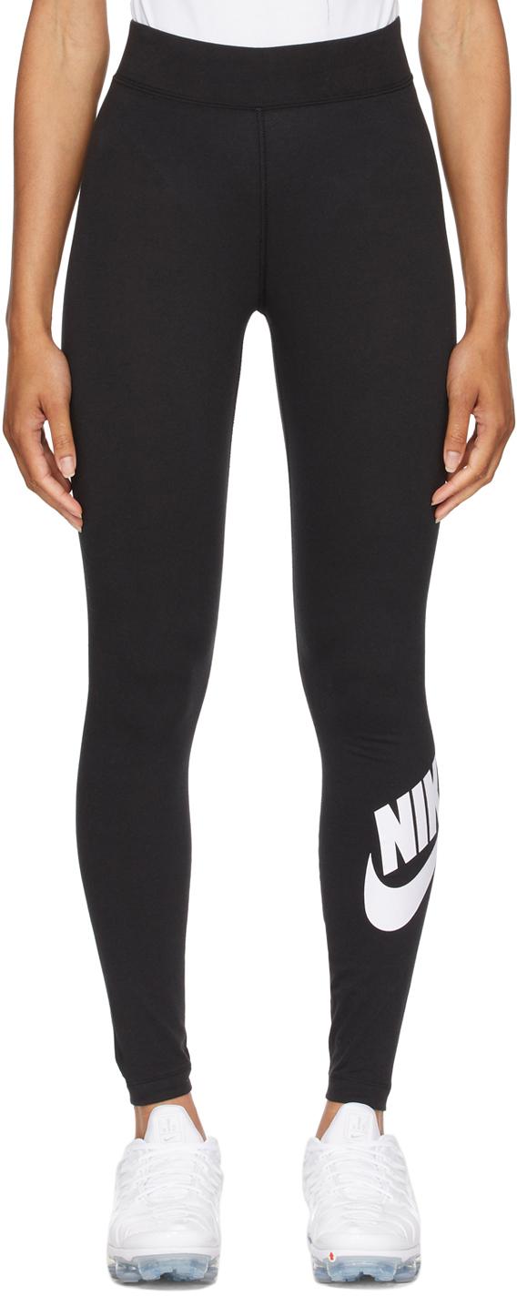Black Sportswear Essential High Waisted Leggings