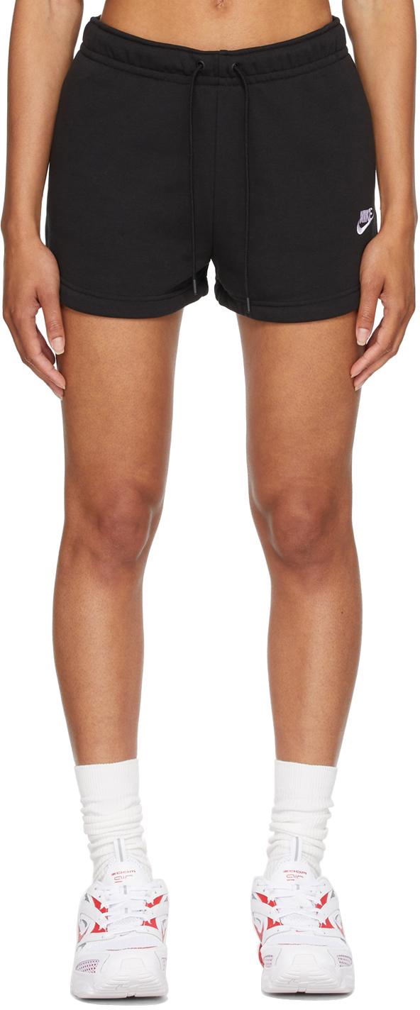 Black Sportswear Essential Shorts