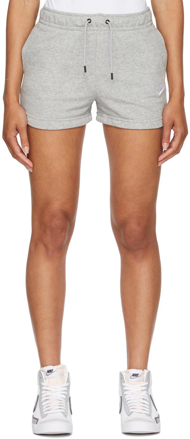 Grey Sportswear Essential Shorts