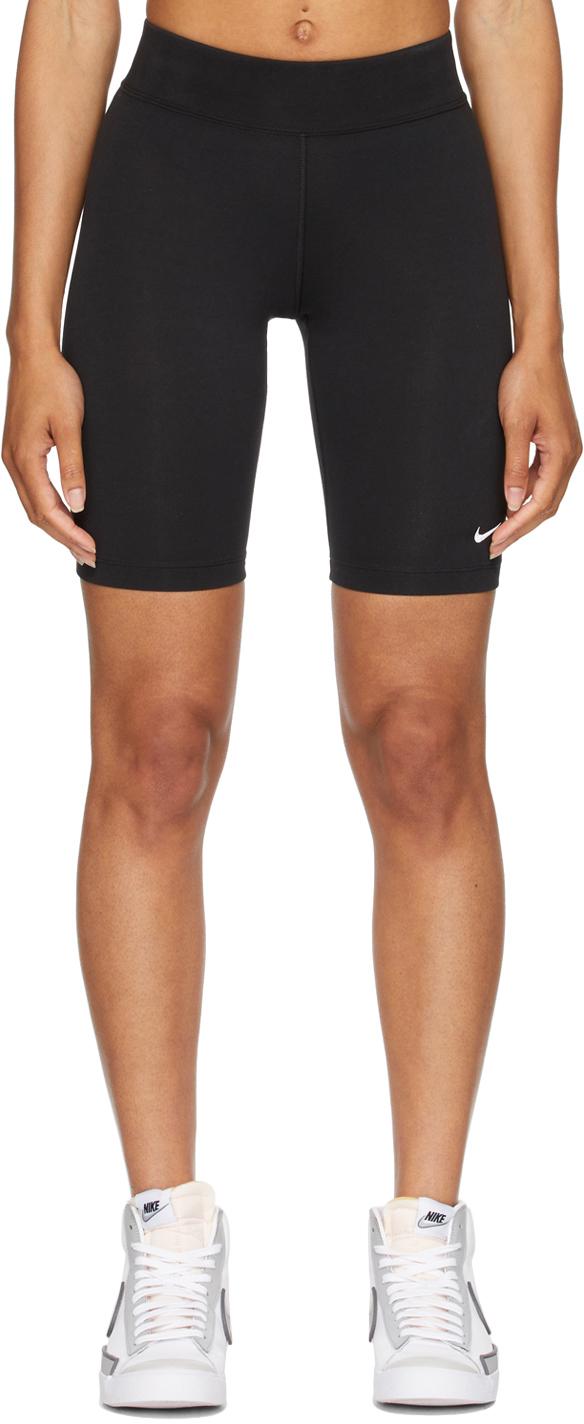Black Sportswear Essential Bike Shorts