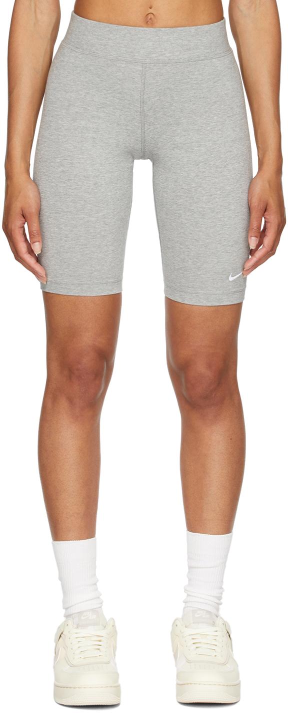 Grey Sportswear Essential Bike Shorts