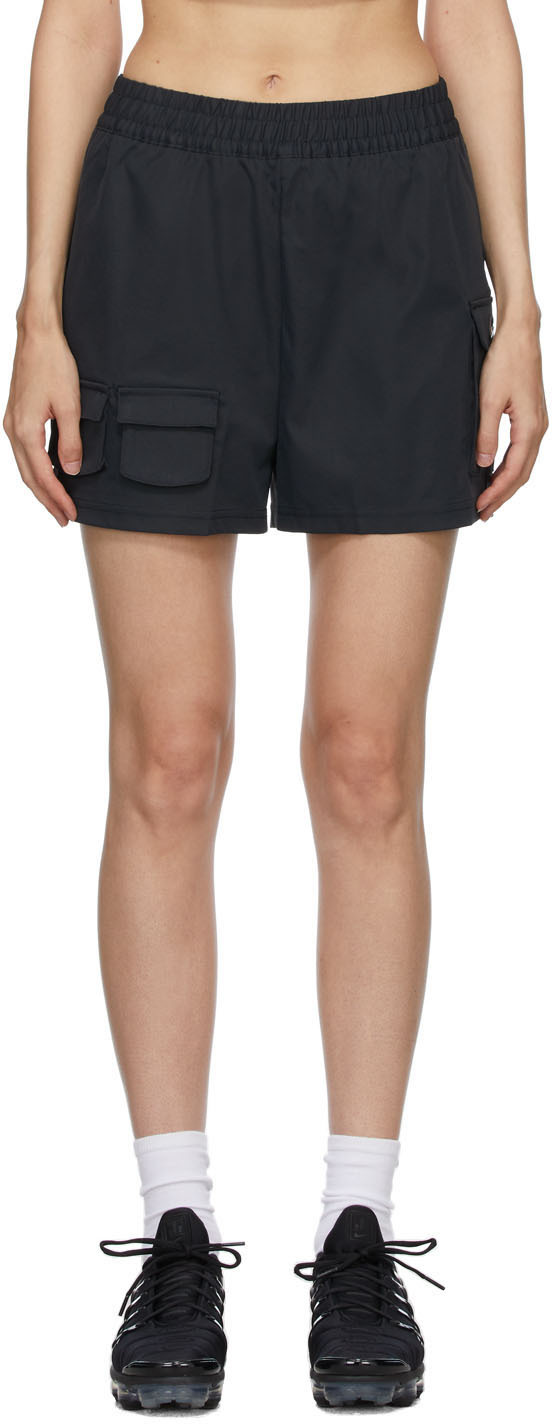 Black Sportswear Swoosh Cargo Shorts