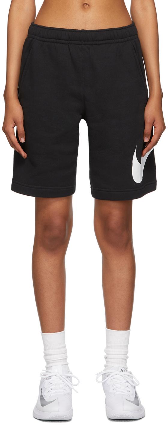 Black Sportswear Club Shorts