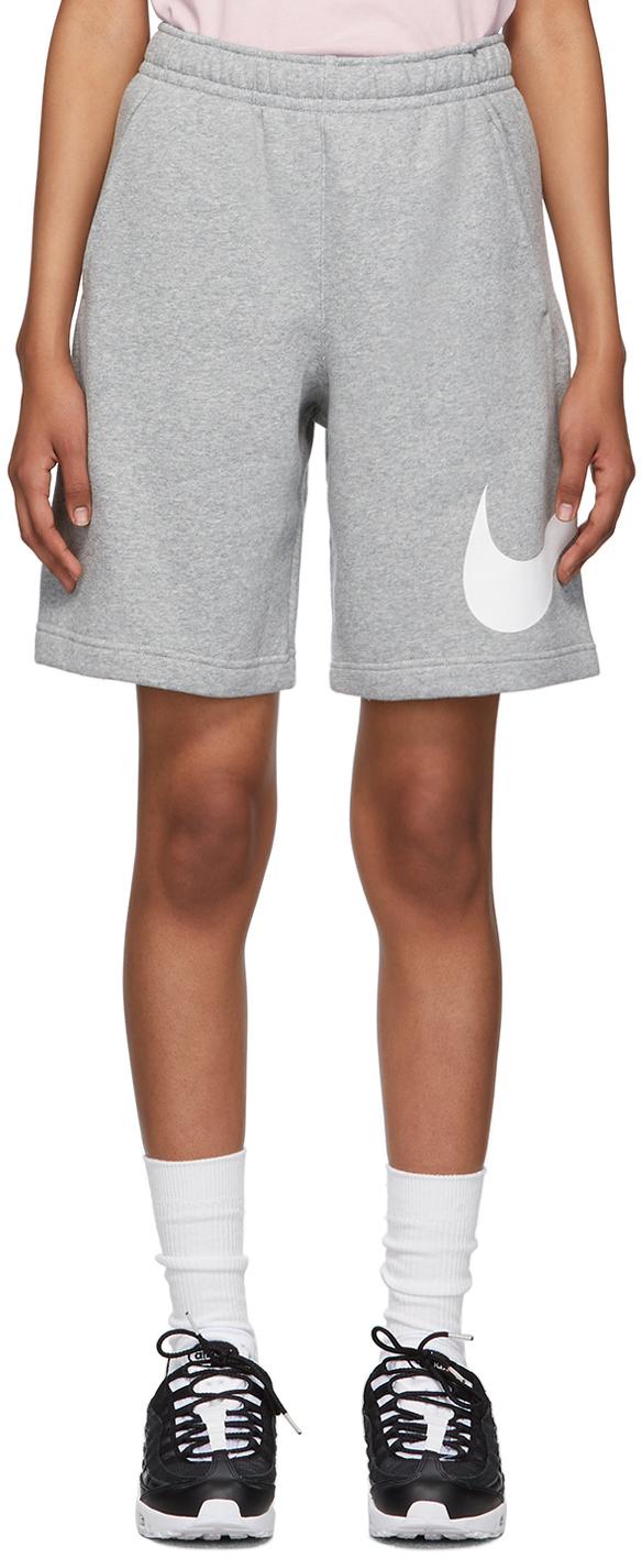 Grey Fleece Sportswear Club Shorts
