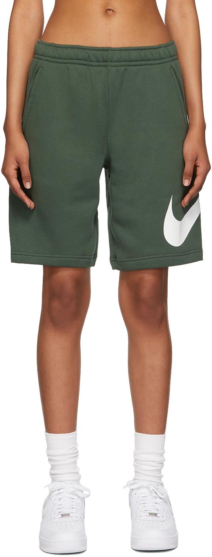 Green Sportswear Club Shorts