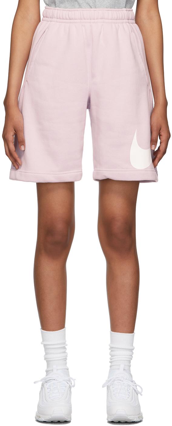 Purple Fleece Sportswear Club Shorts
