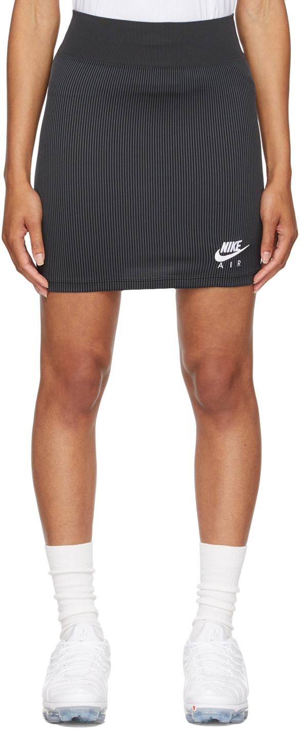 Black & White Air Ribbed skirt
