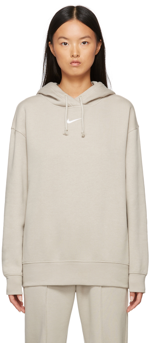 Taupe Sportswear Essential Hoodie