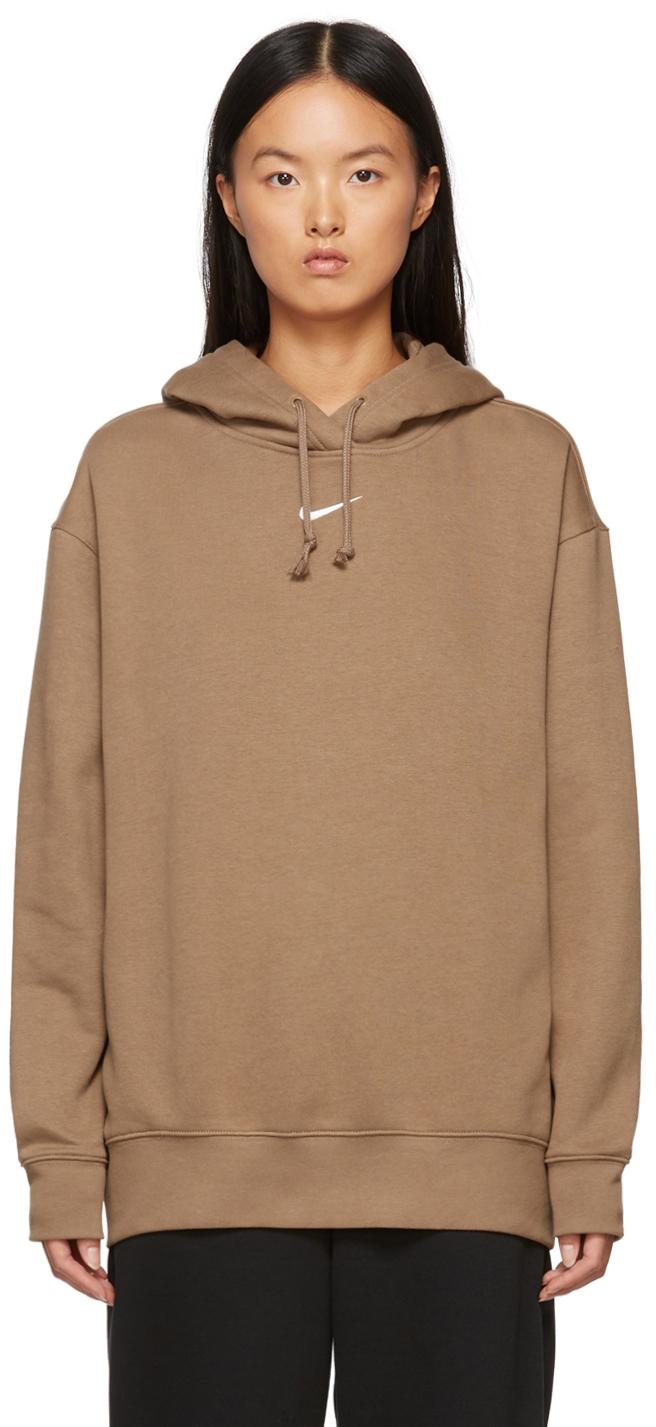 Brown Sportswear Essential Hoodie