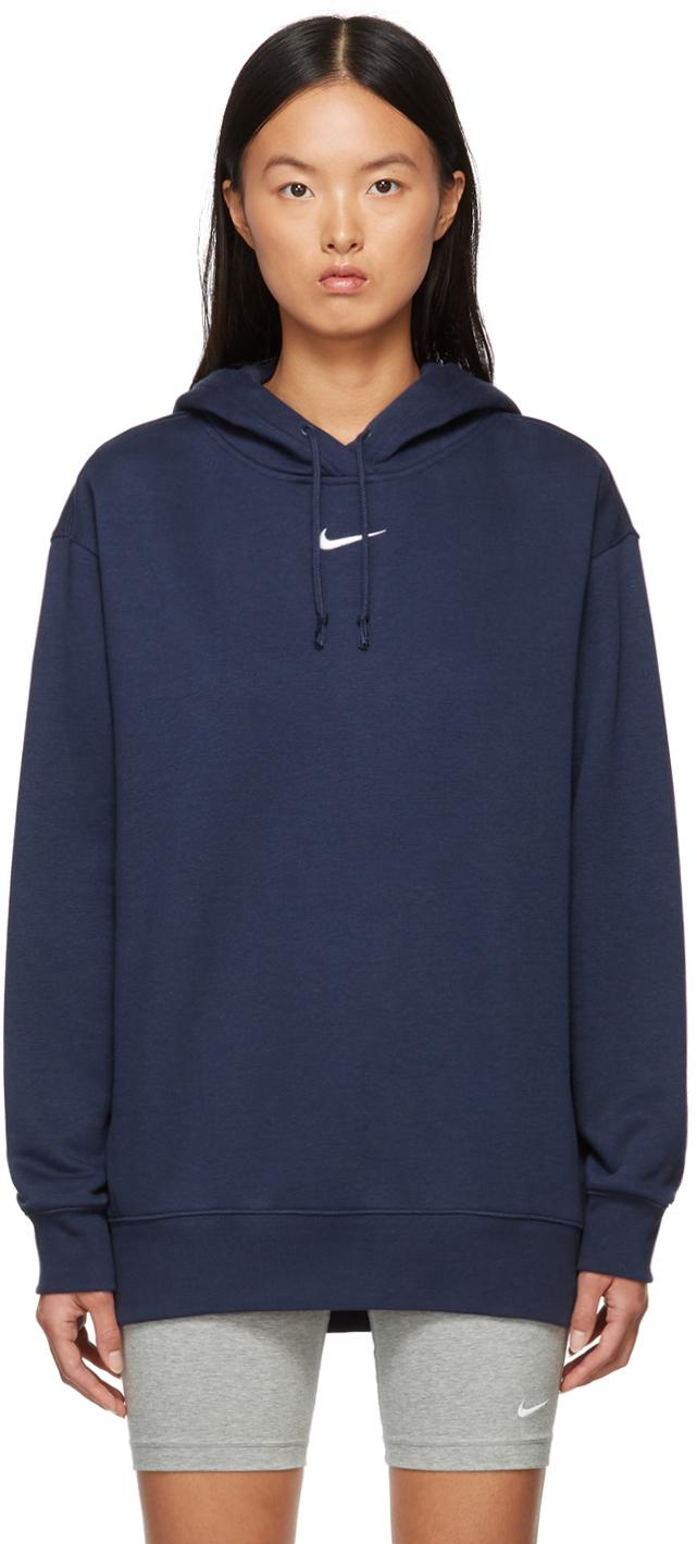 Navy Sportswear Essential Hoodie