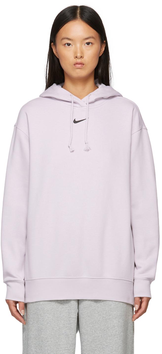 Purple Sportswear Essential Hoodie