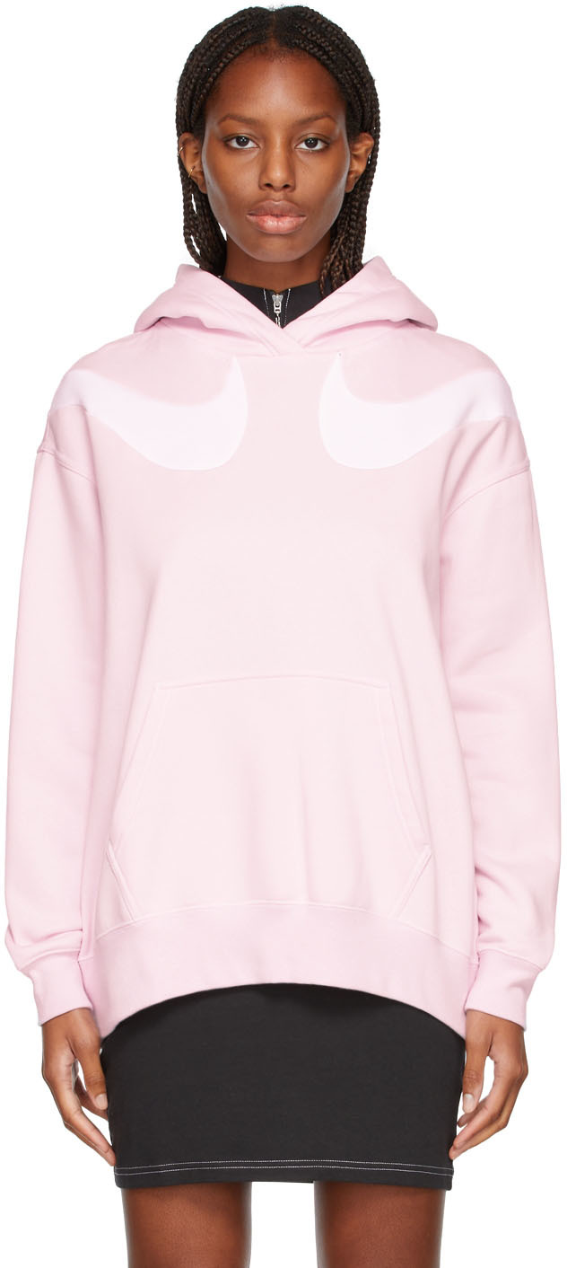 Pink Sportswear Swoosh Hoodie